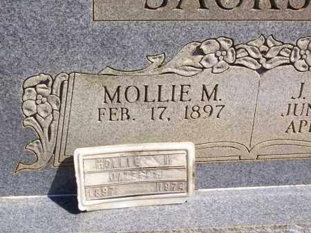 JACKSON, MOLLIE M. (FOOTMARKER) - Garland County, Arkansas | MOLLIE M. (FOOTMARKER) JACKSON - Arkansas Gravestone Photos