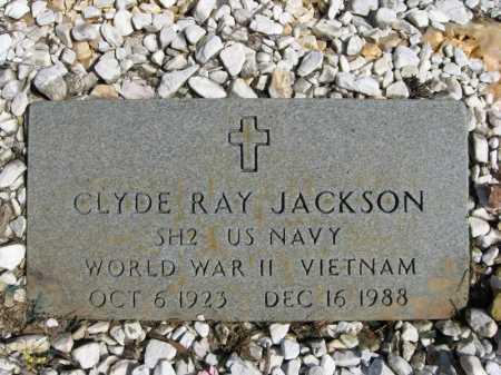 JACKSON (VETERAN 2 WARS), CLYDE RAY - Garland County, Arkansas | CLYDE RAY JACKSON (VETERAN 2 WARS) - Arkansas Gravestone Photos