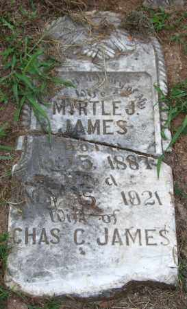 JAMES, MYRTLE J. - Garland County, Arkansas | MYRTLE J. JAMES - Arkansas Gravestone Photos