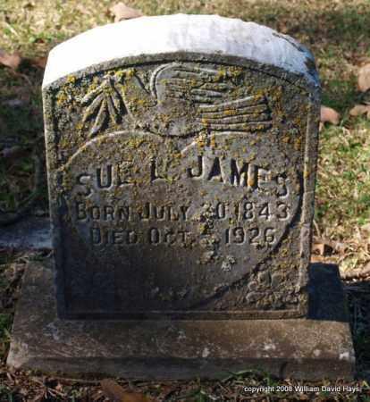 JAMES, SUE L. - Garland County, Arkansas   SUE L. JAMES - Arkansas Gravestone Photos