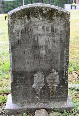 DYER JAMES, SARAH AGNES - Garland County, Arkansas | SARAH AGNES DYER JAMES - Arkansas Gravestone Photos