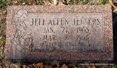 JEFFERS, JEFF ALLEN - Garland County, Arkansas | JEFF ALLEN JEFFERS - Arkansas Gravestone Photos
