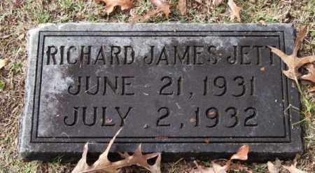 JETT, RICHARD JAMES - Garland County, Arkansas | RICHARD JAMES JETT - Arkansas Gravestone Photos