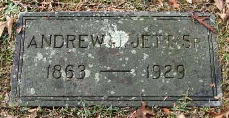 JETT, SR., ANDREW J. - Garland County, Arkansas   ANDREW J. JETT, SR. - Arkansas Gravestone Photos