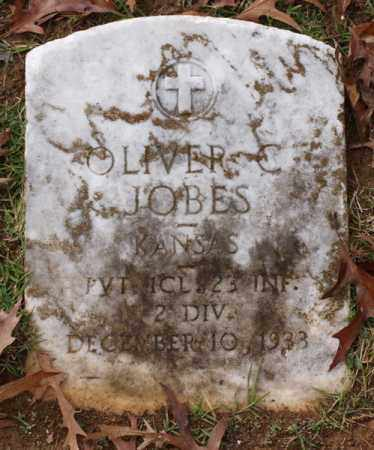 JOBES (VETERAN), OLIVER C - Garland County, Arkansas | OLIVER C JOBES (VETERAN) - Arkansas Gravestone Photos