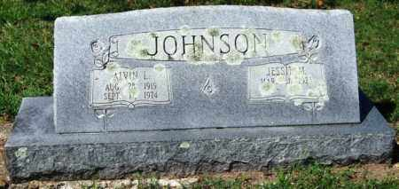 JOHNSON, ALVIN L. - Garland County, Arkansas | ALVIN L. JOHNSON - Arkansas Gravestone Photos