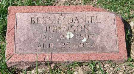 DANIEL JOHNSON, BESSIE - Garland County, Arkansas | BESSIE DANIEL JOHNSON - Arkansas Gravestone Photos