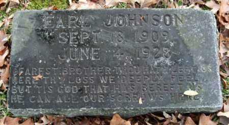 JOHNSON, EARL - Garland County, Arkansas | EARL JOHNSON - Arkansas Gravestone Photos