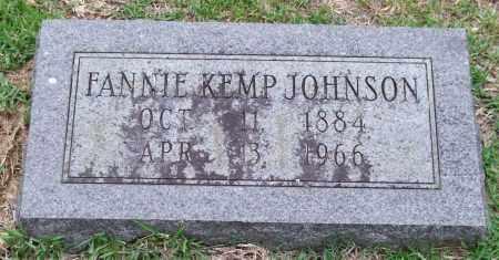 JOHNSON, FANNIE - Garland County, Arkansas | FANNIE JOHNSON - Arkansas Gravestone Photos