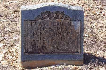 JOHNSON, INFANT DAUGHTER (1957) - Garland County, Arkansas | INFANT DAUGHTER (1957) JOHNSON - Arkansas Gravestone Photos