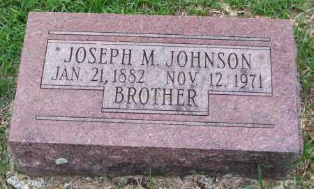 JOHNSON, JOSEPH M. - Garland County, Arkansas | JOSEPH M. JOHNSON - Arkansas Gravestone Photos