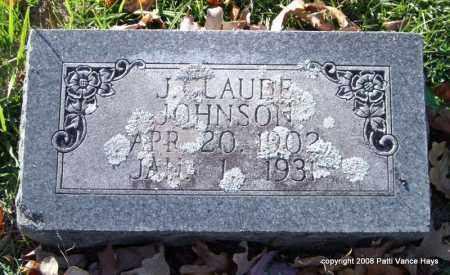JOHNSON, J. CLAUDE - Garland County, Arkansas   J. CLAUDE JOHNSON - Arkansas Gravestone Photos