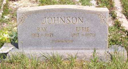 JOHNSON, EFFIE - Garland County, Arkansas | EFFIE JOHNSON - Arkansas Gravestone Photos