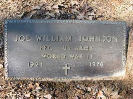 JOHNSON (VETERAN WWII), JOE WILLIAM - Garland County, Arkansas   JOE WILLIAM JOHNSON (VETERAN WWII) - Arkansas Gravestone Photos