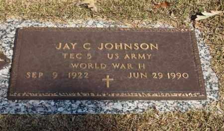 JOHNSON (VETERAN WWII), JAY C - Garland County, Arkansas | JAY C JOHNSON (VETERAN WWII) - Arkansas Gravestone Photos