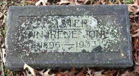 JONES, ANN IRENE - Garland County, Arkansas | ANN IRENE JONES - Arkansas Gravestone Photos