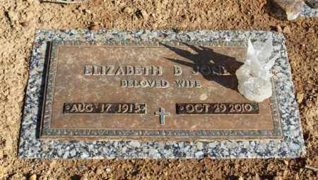 JONES, ELIZABETH - Garland County, Arkansas | ELIZABETH JONES - Arkansas Gravestone Photos