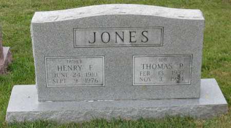 JONES, THOMAS P. - Garland County, Arkansas | THOMAS P. JONES - Arkansas Gravestone Photos