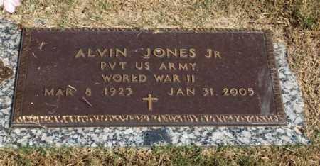 JONES, JR. (VETERAN WWII), ALVIN - Garland County, Arkansas   ALVIN JONES, JR. (VETERAN WWII) - Arkansas Gravestone Photos