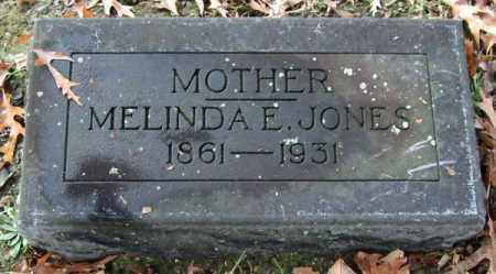 JONES, MELINDA E. - Garland County, Arkansas | MELINDA E. JONES - Arkansas Gravestone Photos