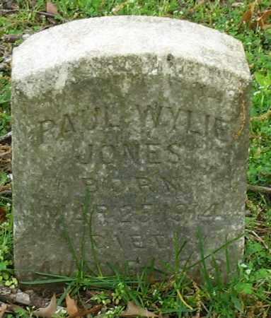 JONES, PAUL WYLIE - Garland County, Arkansas   PAUL WYLIE JONES - Arkansas Gravestone Photos