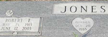 JONES, ROBERT E. (CLOSE UP) - Garland County, Arkansas | ROBERT E. (CLOSE UP) JONES - Arkansas Gravestone Photos