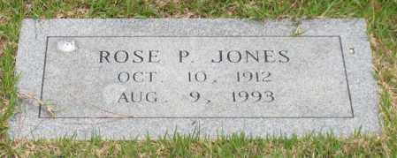 JONES, ROSE P. - Garland County, Arkansas | ROSE P. JONES - Arkansas Gravestone Photos