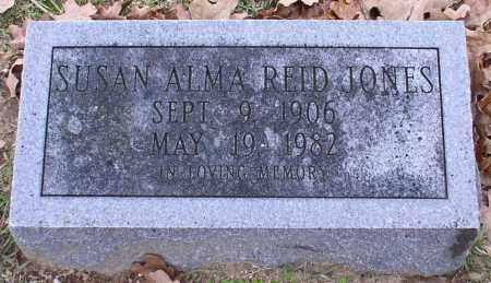 REID JONES, SUSAN ALMA - Garland County, Arkansas | SUSAN ALMA REID JONES - Arkansas Gravestone Photos