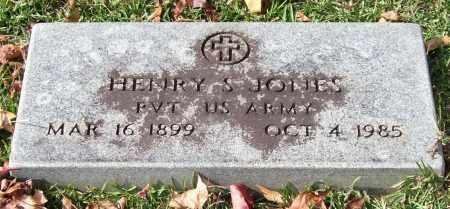 JONES (VETERAN), HENRY S. - Garland County, Arkansas | HENRY S. JONES (VETERAN) - Arkansas Gravestone Photos