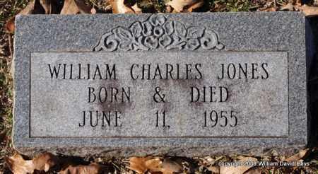 JONES, WILLIAM CHARLES - Garland County, Arkansas   WILLIAM CHARLES JONES - Arkansas Gravestone Photos