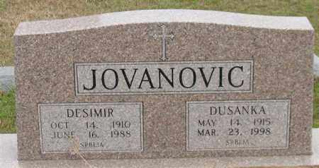 JOVANOVIC, DESIMIR - Garland County, Arkansas | DESIMIR JOVANOVIC - Arkansas Gravestone Photos