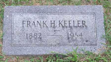 KEELER, FRANK H. - Garland County, Arkansas | FRANK H. KEELER - Arkansas Gravestone Photos