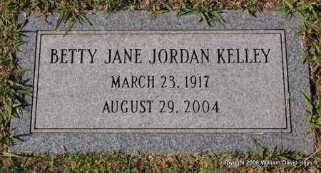 KELLEY, BETTY JANE - Garland County, Arkansas | BETTY JANE KELLEY - Arkansas Gravestone Photos