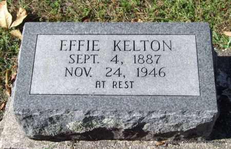 KELTON, EFFIE - Garland County, Arkansas   EFFIE KELTON - Arkansas Gravestone Photos