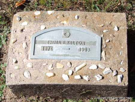 KELTON, EMMA E. - Garland County, Arkansas   EMMA E. KELTON - Arkansas Gravestone Photos