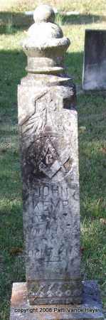 KEMP, JOHN - Garland County, Arkansas | JOHN KEMP - Arkansas Gravestone Photos