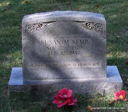KEMP, SUSAN M. - Garland County, Arkansas | SUSAN M. KEMP - Arkansas Gravestone Photos