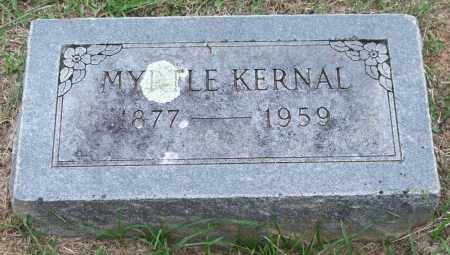KERNAL, MYRTLE - Garland County, Arkansas | MYRTLE KERNAL - Arkansas Gravestone Photos