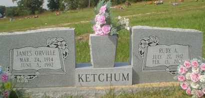 KETCHUM, JAMES ORVILLE - Garland County, Arkansas   JAMES ORVILLE KETCHUM - Arkansas Gravestone Photos