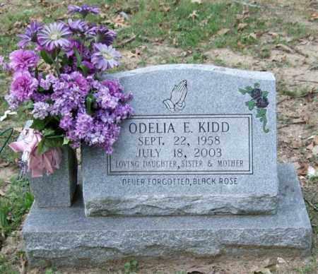 KIDD, ODELIA E. - Garland County, Arkansas | ODELIA E. KIDD - Arkansas Gravestone Photos