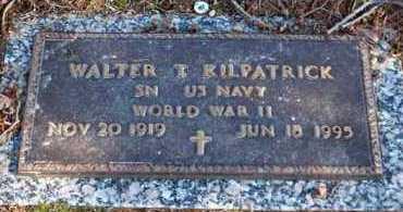KILPATRICK (VETERAN WWII), WALTER T - Garland County, Arkansas | WALTER T KILPATRICK (VETERAN WWII) - Arkansas Gravestone Photos