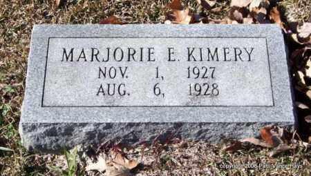 KIMERY, MARJORIE E. - Garland County, Arkansas   MARJORIE E. KIMERY - Arkansas Gravestone Photos