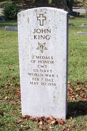 KING (VETERAN SAW, FAMOUS), JOHN - Garland County, Arkansas | JOHN KING (VETERAN SAW, FAMOUS) - Arkansas Gravestone Photos