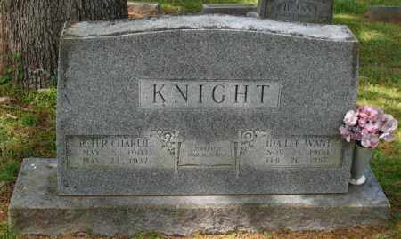 "KNIGHT, IDA LEE ""BABE"" - Garland County, Arkansas 