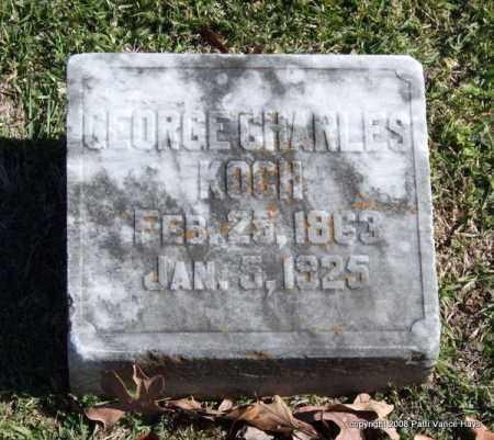 KOCH, GEORGE CHARLES - Garland County, Arkansas | GEORGE CHARLES KOCH - Arkansas Gravestone Photos