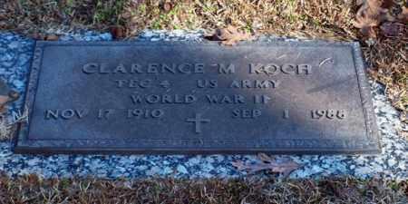 KOCH (VETERAN WWII), CLARENCE M - Garland County, Arkansas | CLARENCE M KOCH (VETERAN WWII) - Arkansas Gravestone Photos