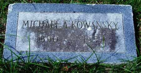 KOWANSKY, MICHAEL A. - Garland County, Arkansas | MICHAEL A. KOWANSKY - Arkansas Gravestone Photos