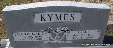 KYMES, LOTTIE MARIE - Garland County, Arkansas | LOTTIE MARIE KYMES - Arkansas Gravestone Photos