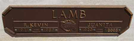 LAMB, R KEVIN - Garland County, Arkansas | R KEVIN LAMB - Arkansas Gravestone Photos