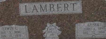 LAMBERT, GUSTA (CLOSE UP) - Garland County, Arkansas | GUSTA (CLOSE UP) LAMBERT - Arkansas Gravestone Photos